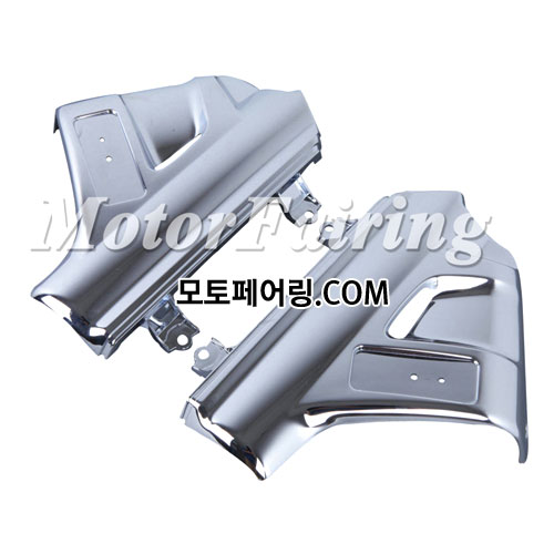 골드윙/튜닝파츠/Left & Right Chrome Front Fender Covers For Honda GL1800 GOLDWING 200 45