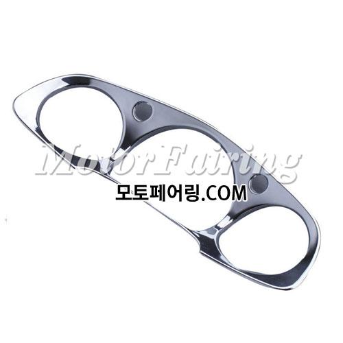골드윙/튜닝파츠/Chrome Speedometer Decoration Gauges Cover For Honda GOLDWING GL1800 2001-2011 35