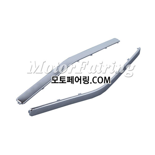 골드윙/튜닝파츠/Chrome Plastic Decoration Strips For Honda GOLDWING GL1800 2001-2011 NEW 35