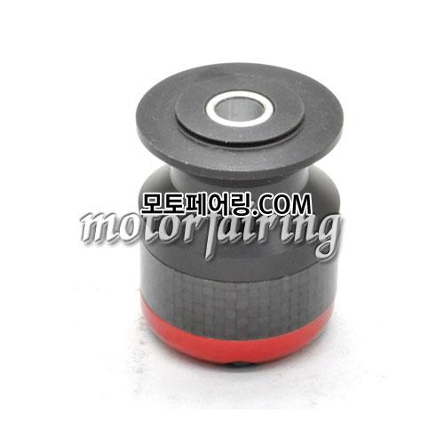 [후크슬라이더]BMW Ducati Honda CBR KTM Suzuki Hayabusa Billet M8 Swing Arm Spools 02 Red 25