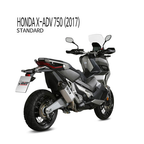 미브 머플러 HONDA X-ADV750 (2017) SPEED EDGE INOX 슬립온