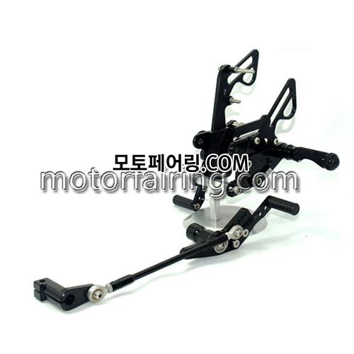 For Honda CBR1000RR 2008-2011 Black 백스텝