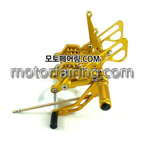 For Kawasaki ZX-10R 2004-2005 Gold 백스텝