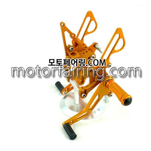 For Suzuki GSXR1000 k7 k8 07-08 Gold 백스텝