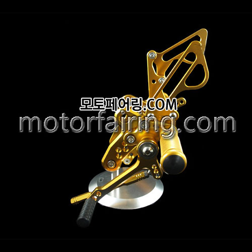 For Suzuki Hayabusa GSX1300R 99-11 Gold 하야부사 백스텝