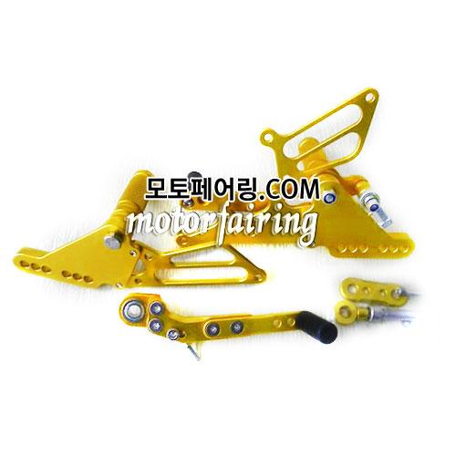 For Suzuki GSX-R 600 750 06-09 Adjustable Rear Sets Pedals Pegs 백스텝