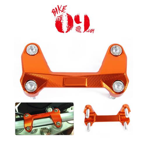 KTM 듀크125 듀크200 듀크390 오렌지 핸들바 커버 클램프
