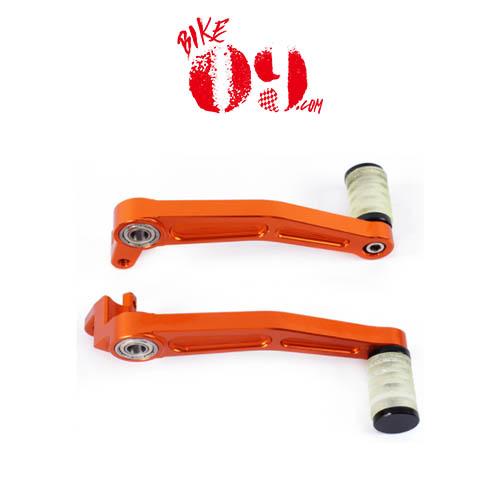 KTM 듀크125 듀크200 듀크390 13-16 리어브레이크 기어체인지 레버 셋트 오렌지