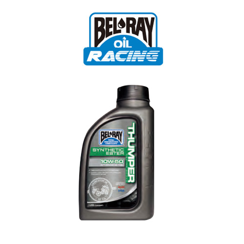 BEL-RAY [벨레이 엔진오일]Works Thumper Racing Synthetic Ester 4T Engine Oil/10W50/1L