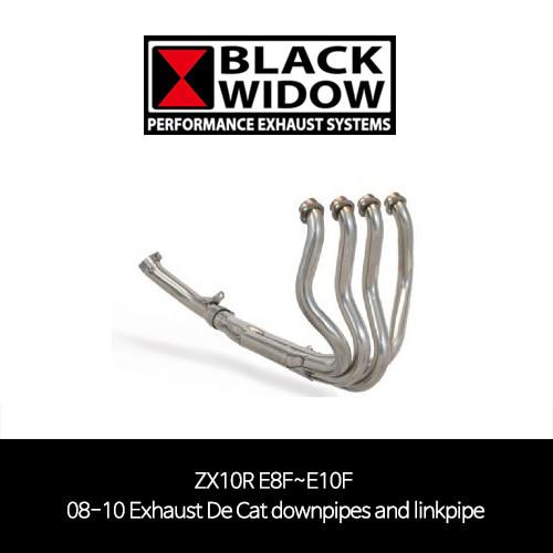 (08-10) ZX10R linkpipe 메니폴더 머플러 중통