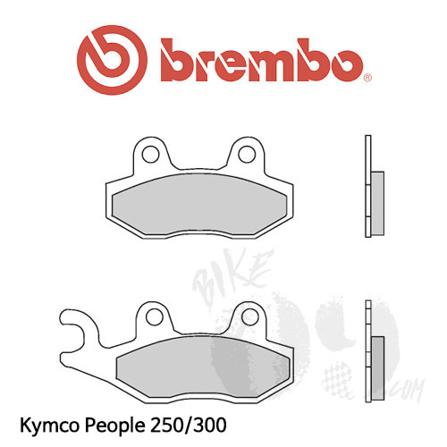 Kymco People 250/300 브레이크 패드 브렘보