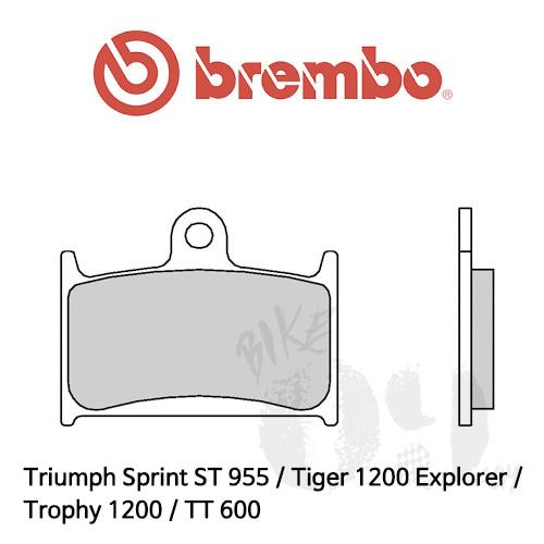Triumph Sprint ST 955 / Tiger 1200 Explorer / Trophy 1200 / TT 600 / 브레이크패드 브렘보 신터드 스트리트