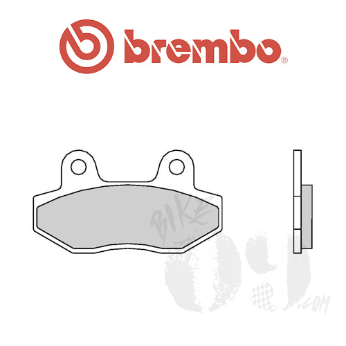 Hyosung 코멧250 / 코멧650/S/R 리어용 브레이크패드 브렘보 신터드 스트리트