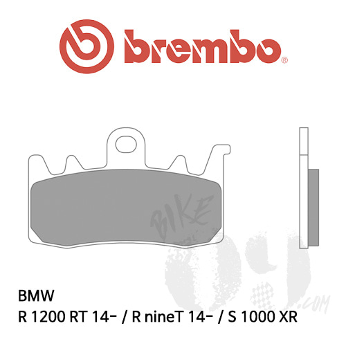 BMW R1200RT 14- / RnineT 14- / S1000XR / 브레이크패드 브렘보 신터드 스트리트