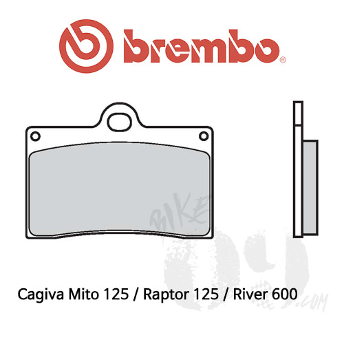 Cagiva Mito 125 / Raptor 125 / River 600 / 브레이크패드 브렘보 신터드 스트리트
