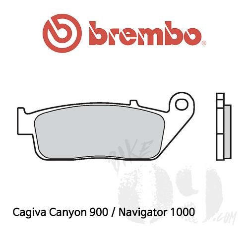 Cagiva Canyon 900 / Navigator 1000 / 브레이크패드 브렘보 신터드 스트리트 07HO30LA