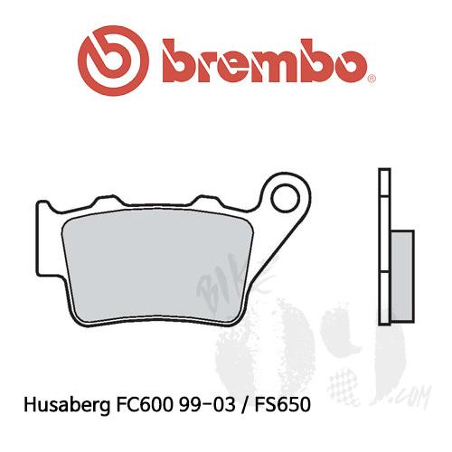 Husaberg FC600 99-03 / FS650 리어용 브레이크패드 브렘보 신터드 스트리트
