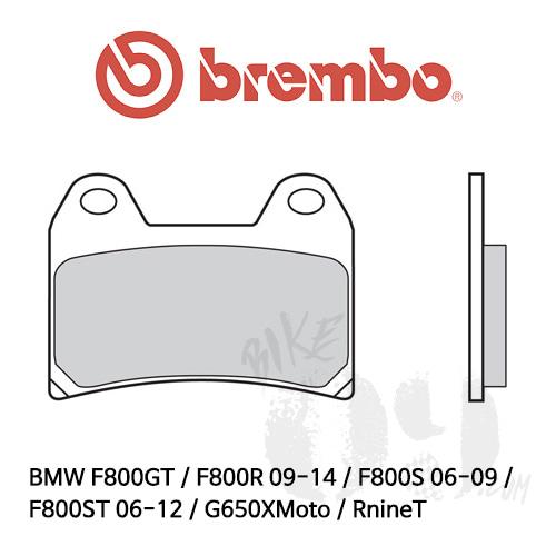 BMW F800GT / F800R 09-14 / F800S 06-09 / F800ST 06-12 / G650XMoto / RnineT 스크램블러 브레이크패드 브렘보 레이싱