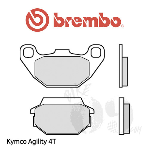 Kymco Agility 4T 브렘보 브레이크패드