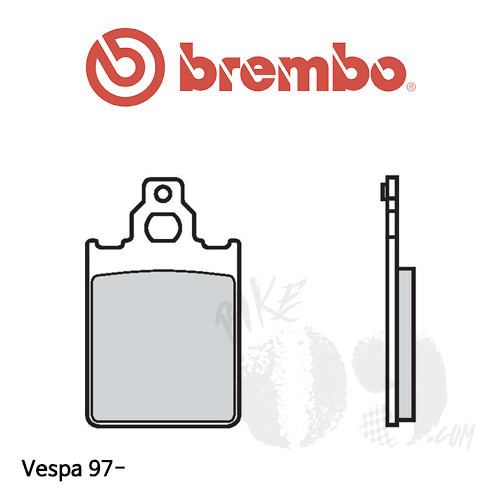 베스파 97- 브레이크패드 브렘보