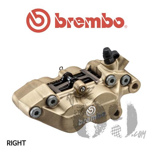 브렘보 P4-30/34 캘리퍼 골드색상 프론트 우측 40mm 마운트 07BB1535