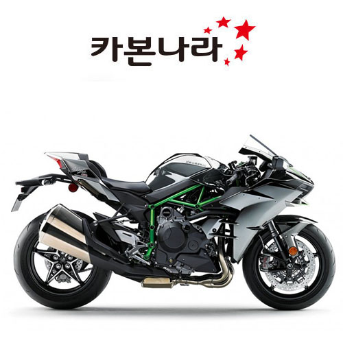 Kawasaki H2 Dash Panels 오토바이 카본