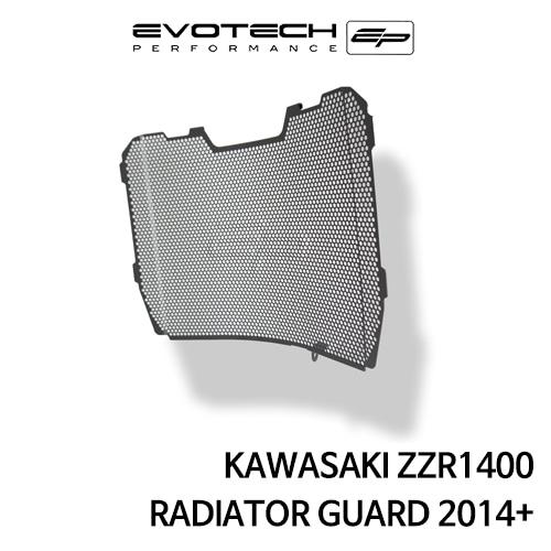 가와사키 ZZR1400 라지에다가드 2014+ 에보텍