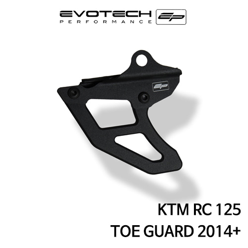 KTM RC125 TOE GUARD 2014+ 에보텍