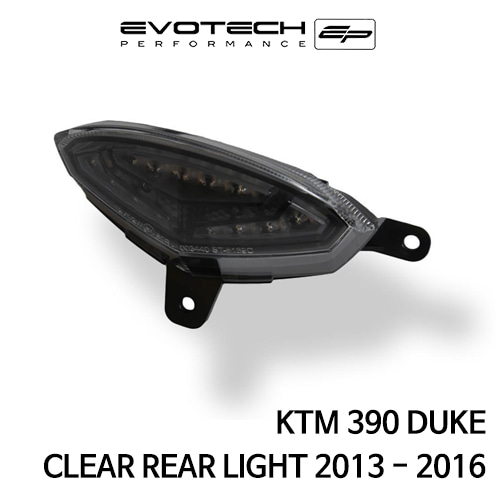 KTM 390듀크 CLEAR REAR LIGHT 2013-2016 에보텍