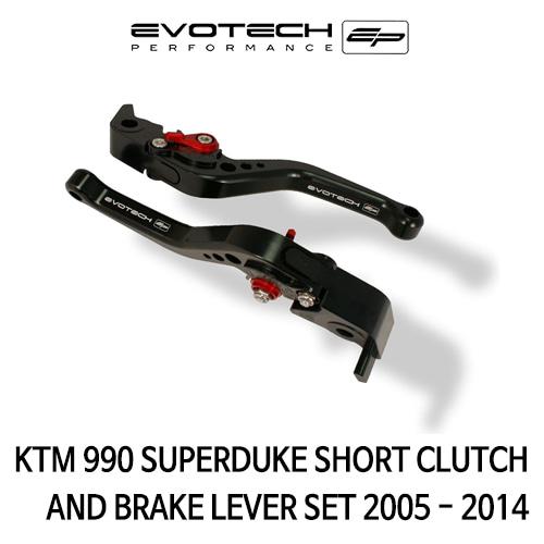 KTM 990SUPER듀크 숏클러치브레이크레버세트 2005-2014 에보텍