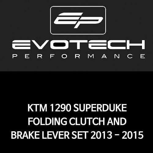 KTM 1290 SUPER듀크 접이식클러치브레이크레버세트 2013-2015 에보텍