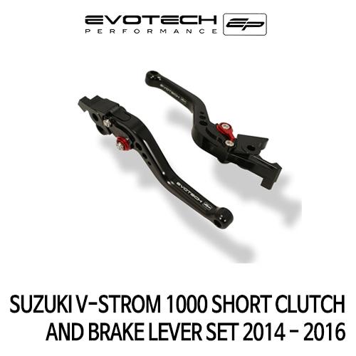 스즈키 V-STROM1000 숏클러치브레이크레버세트 2014-2016 에보텍