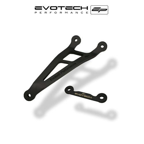 BMW S1000RR HP4 AKRAPOVIC EXHAUST HANGER FOOTREST BLANKING PLATE KIT 2013-2016 에보텍