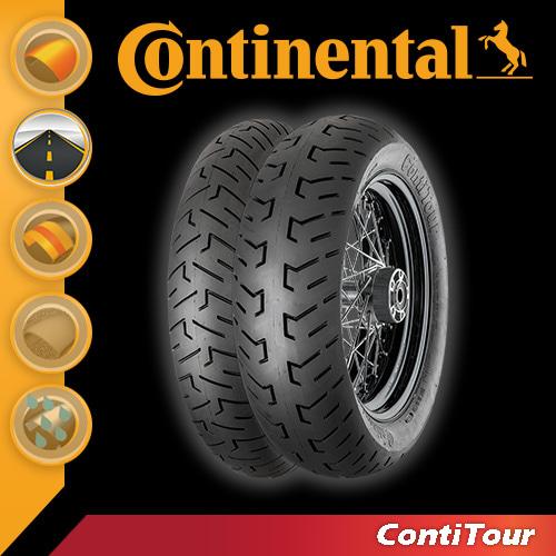 [콘티넨탈 오토바이 타이어]콘티투어/ContiTour 180/65 B 16 M/C 81 H Reinf. TL 02 40 295