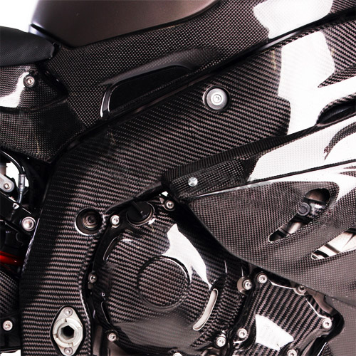 [S1000RR] Frame protection kit 차대 카본 커버 (2010-2011)