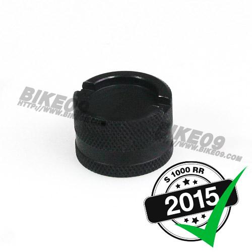 [S1000RR] Racing cap for oil drain valve, aluminum, (black) 오일캡