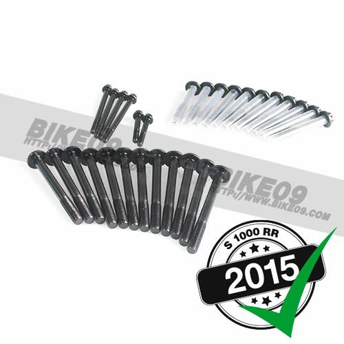[S1000RR] main bearing-/crank case screws 볼트 너트 alpha Racing