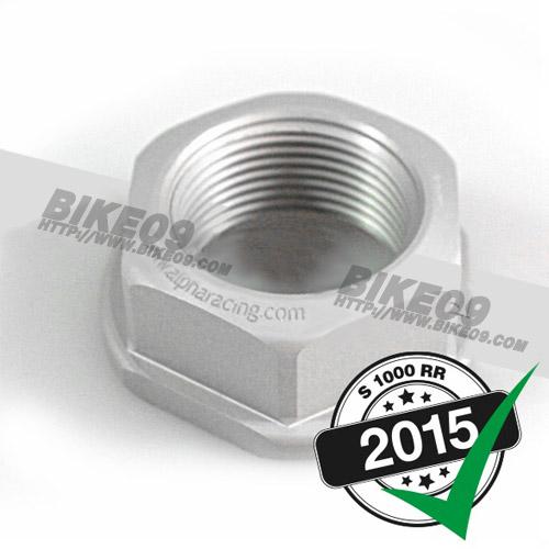 [S1000RR] Hexagonal sprocket nut alpha Racing 32mm 소기어