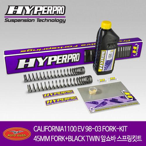 MOTO GUZZI CALIFORNIA1100 EV 98-03 FORK-KIT45MM FORK+BLACK TWIN 앞쇼바 스프링킷트 올린즈 하이퍼프로