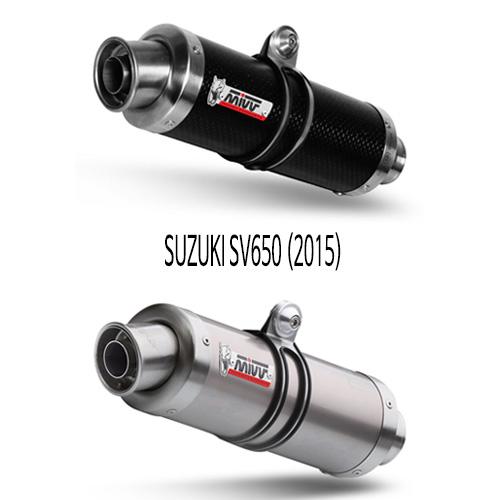 미브 스즈키 (2015) GP SLIP-ON 머플러 SV650