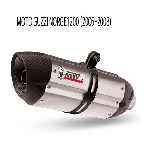 미브 NORGE1200 머플러 모토 구찌 (2006-2008) 수오노 스틸 슬립온