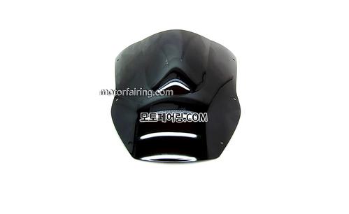 스크린/레이싱/이리듐/클리어/스모그/Kawasaki ZX-12R 00-01 Black 15