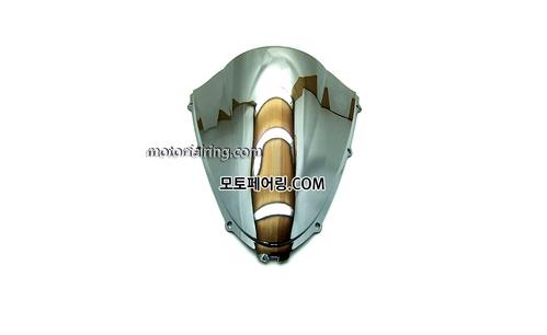 스크린/레이싱/이리듐/클리어/스모그/Kawasaki ZX-14RZZR1400 06-11 Chrome 20