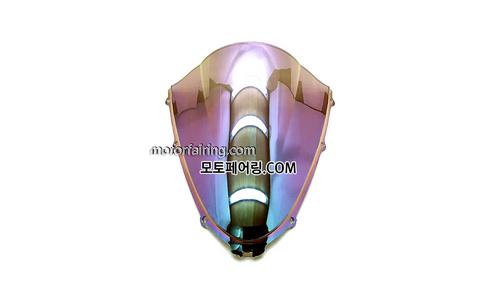 스크린/레이싱/이리듐/클리어/스모그/Kawasaki ZX-14RZZR1400 06-11 Iridium Clear 20