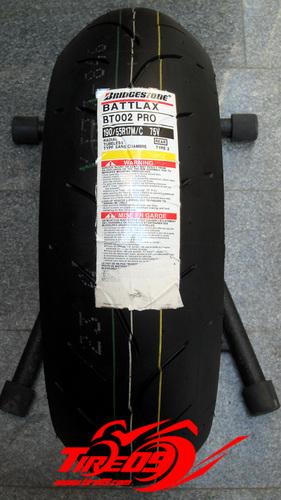 [브릿지스톤 오토바이 타이어]BT002 [120+190] 앞뒤세트