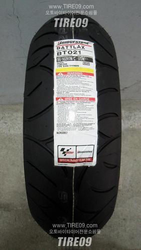 [브릿지스톤 오토바이 타이어]BT021 [190/50-17] 1만키로이상 마일리지