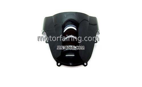스크린/레이싱/이리듐/클리어/스모그/Suzuki GSX-R600/750 00-03 Black 15