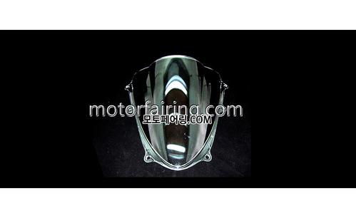 스크린/레이싱/이리듐/클리어/스모그/Suzuki GSX-R1000 09-10 Clear 15