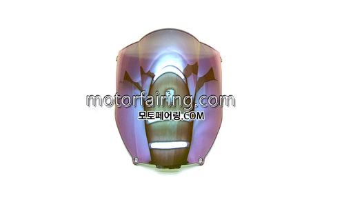 스크린/레이싱/이리듐/클리어/스모그/Kawasaki ZX-6R 00-02 Iridium Clear 20
