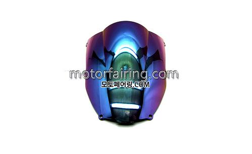 스크린/레이싱/이리듐/클리어/스모그/Kawasaki ZX-6R 00-02 Iridium Smoke 20